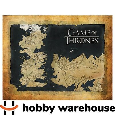 Game of Thrones Map Wall Canvas