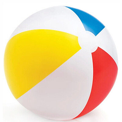 Inflatable Beach Ball Large Swimming Pool Holidays Party Game Blow Up Giant Ball