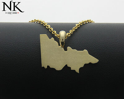 Ned Kelly® NK® State of Victoria Gold 9ct (375) Pendant
