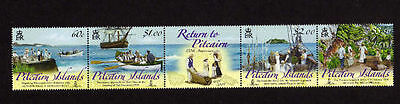 Pitcairn Islands 2009 Return from Norfolk Island MNH