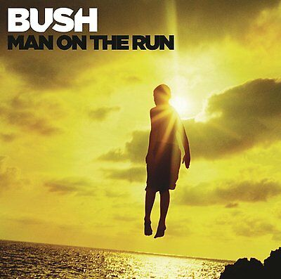 Bush - Man on the Run (2014)  CD Deluxe Edition  NEW/SEALED  SPEEDYPOST