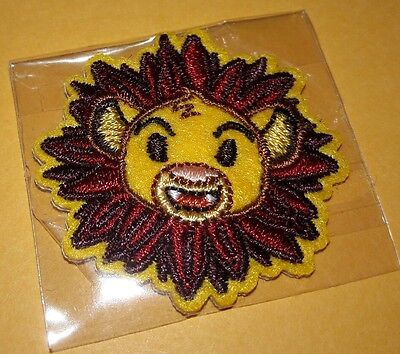 Disney Store 2017 Summer Play Days Rare Lion King Patch Simba patch NEW Rare