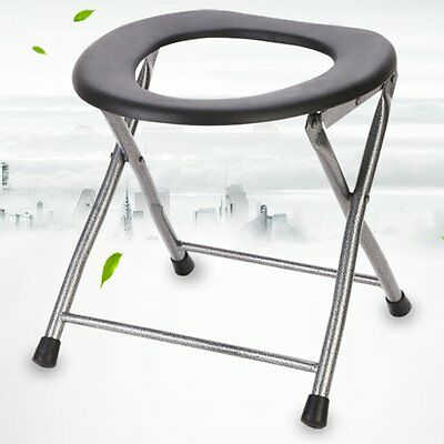 Portable Folding Toilet Chair Travel Camping Park Fishing Festival Outdoors Seat