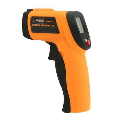 PRO-SERIES Non Contact Infrared Thermometer with Laser Sighting, 12:1 Spo