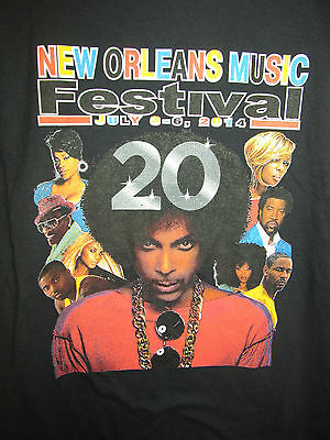 Prince - 2014 New Orleans Music Festival shirt - Adult small