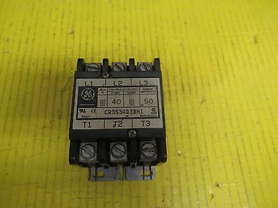 GE GENERAL ELECTRIC CONTACTOR CR353AD3BH1 50A A AMP 24V COIL 600Vac