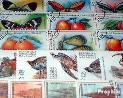Madagascar 50 different stamps