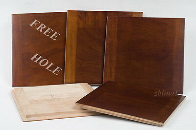 """1 Lens Board  6""""x 6"""" for AGFA ANSCO 8"""" x10"""" made of Cherry, undrilled&free hole."""