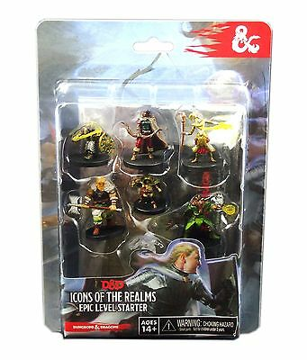 Wizkids D&D Minis: Icons of the Realms Epic Level Starter, New and Sealed