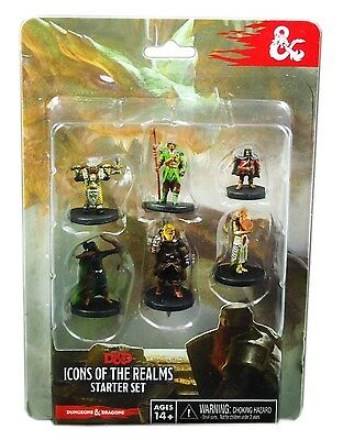 Wizkids D&D Minis: Icons of the Realms Level Starter, New and Sealed