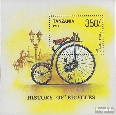 Tanzania block209 (complete.issue.) unmounted mint / never hinged 1992 History o