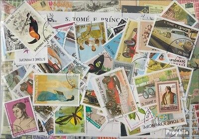 Sao Tome e Principe 100 different stamps