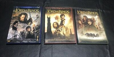 The Lord of The Rings Triology DVD (Wide Screen)