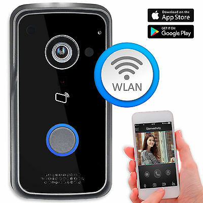 GOLIATH WLAN IP Video Türsprechanlage 1MP RFID PoE 1 FAM Türklingel Handy App