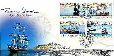 Pitcairn Islands 2005 HMS Bounty Replica FDC