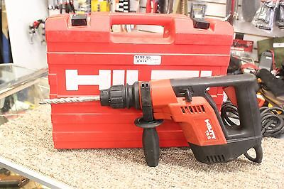 Hilti TE 5 Rotary Hammer Drill with Case and Bit
