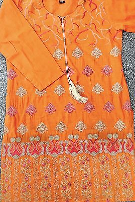 New Ladies Embroidered Kurtis Peplum.shirt.pakistan.india.Eid