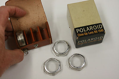 Polaroid Close-up lens kit #540 with case and box