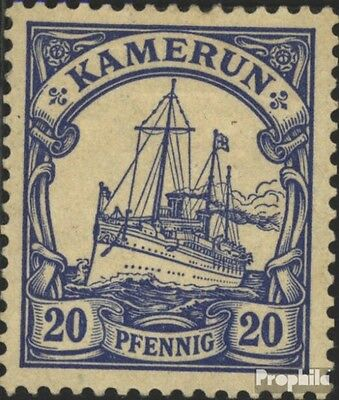 Cameroon (German. Colony) 10 used 1900 Ship Imperial Yacht Hohe