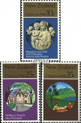 New Zealand 807-809 (complete issue) unmounted mint / never hinged 1980 christma