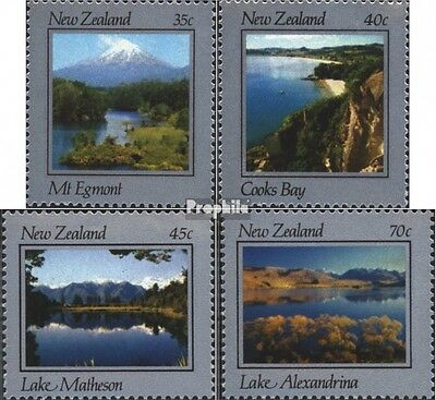 New Zealand 874-877 (complete issue) unmounted mint / never hinged 1983 Landscap