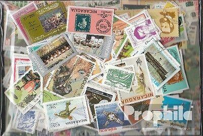 Nicaragua 500 different stamps