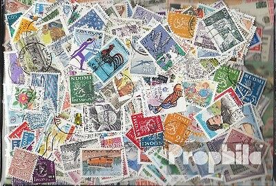 Finland 600 different stamps