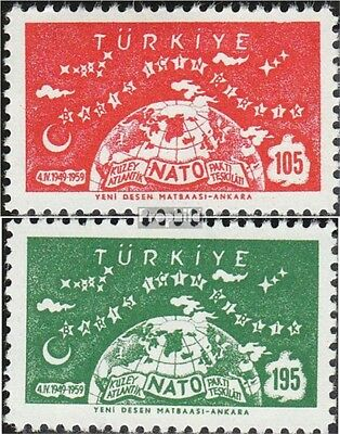 Turkey 1621-1622 (complete issue) unmounted mint / never hinged 1959 10 years NA