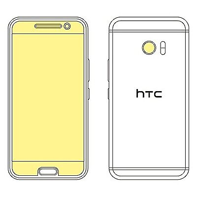 Martin Fields Overlay Plus Screen Protector (HTC 10) - Includes Camera Lens P...