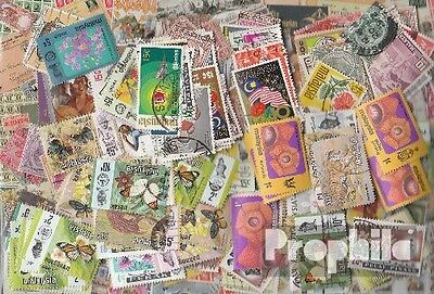 Malaysia 300 different stamps