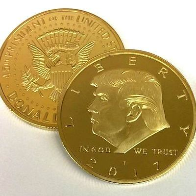 2017 Rare Donald Trump Coin US Gold Eagle Collection Republican Convention Gift