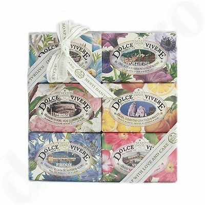 Nesti Dante Seifen Geschenk-Set Dolce Vivere Collection (6x 150g)