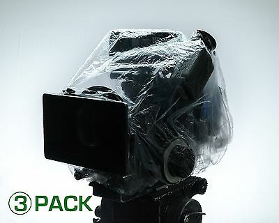 3 Pack Cap It! Covers (Aks) Camera & Electronics Protection Perfect For Arri ...