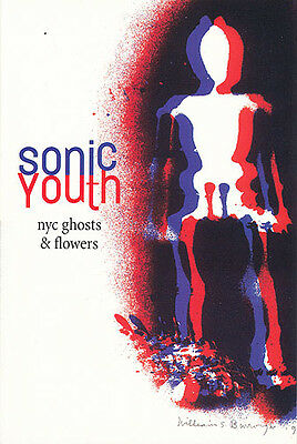 Sonic Youth NYC Ghosts & Flowers promo postcard '00