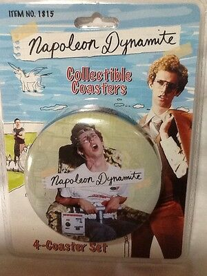 Napoleon Dynamite Collectible Coasters set of 4