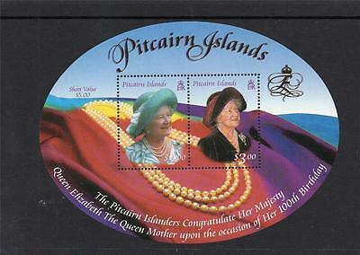 Pitcairn Islands 2000 Queen Mother MS MNH