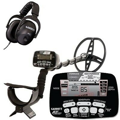Metal Detector Garrett At Pro International At-Pro + Headphones Ms-2