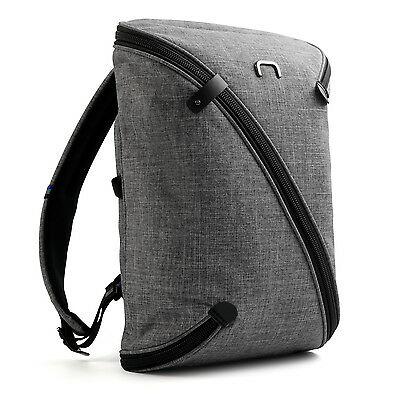 NIID UNO I Water Repellent Slim Laptop Backpack with USB Port for College Travel