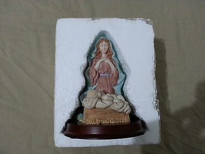 Virgin Mary Figurine Statue Christian Religous