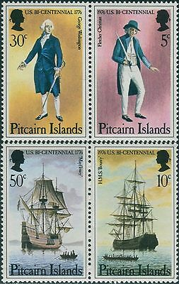Pitcairn Islands 1976 American Revolution MNH