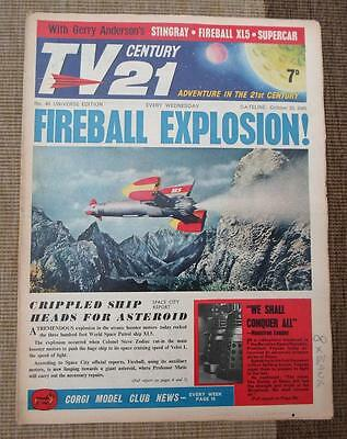 TV 21st  #40 CENTURY XL5 STINGRAY THUNDERBIRDS Daleks fireball