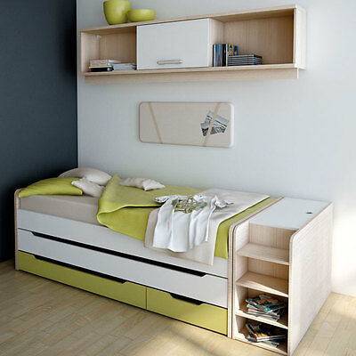 welle m bel unlimited kojenbett mit schubladen wei oder esche coimbra eur 445 00 picclick de. Black Bedroom Furniture Sets. Home Design Ideas