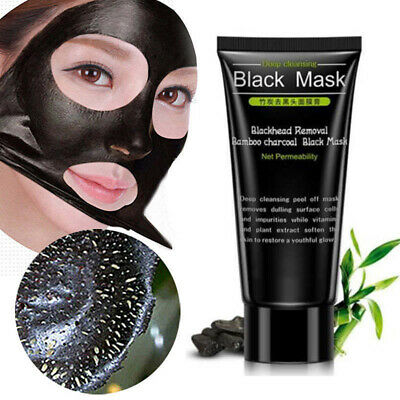 Black Mud Deep Cleansing Blackhead Remover Purifying Peel Off Face Mask Nose