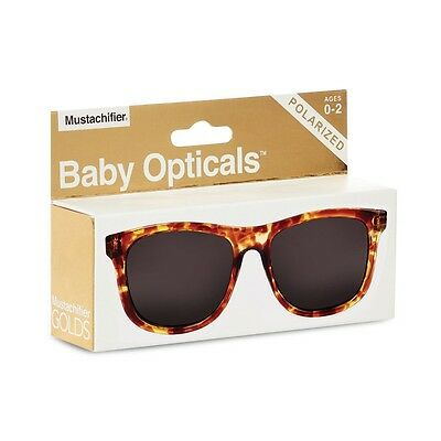 FCTRY - Baby Opticals, Tortoise Shell Polarized Sunglasses, Ages 0-2