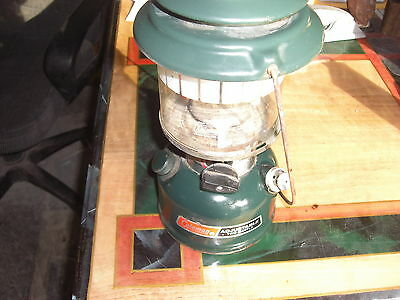 Vintage Coleman Model 288A  2 Mantle Lantern 02/97  With New Mantles 288A700