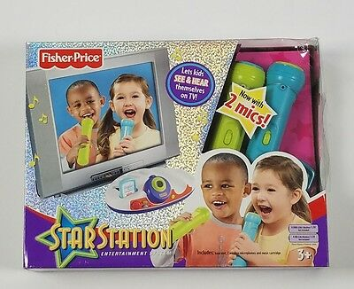 Karaoke FISHER PRICE STAR STATION ENTERTAINMENT SYSTEM 2 MICROPHONES