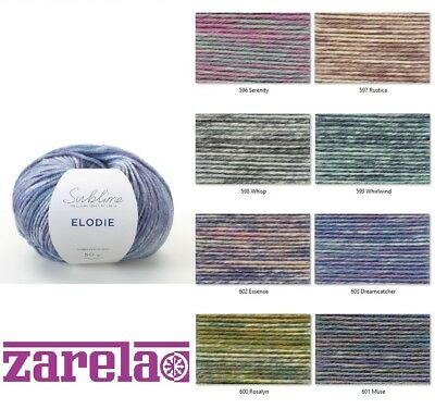 Sublime Elodie DK Knitting Yarn - 50g ***ALL COLOURS***