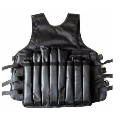 Weighted Vest 0 & 10kg - Adjustable Weight Training Jacket