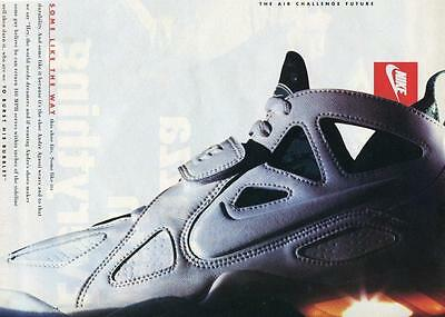 """Vtg Print Ad For Nike -Andre Agassi - """"the Air Challenge Future"""" Ready To Frame"""