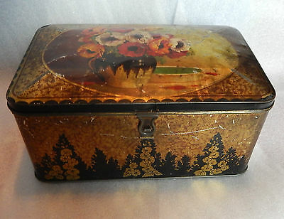 victorian Parkinsons toffee 8 Lb shop counter toffee tin in store dispenser